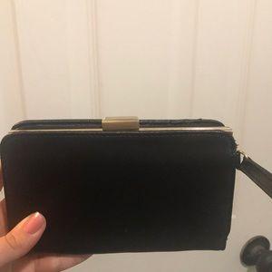 Black Clutch/Wallet